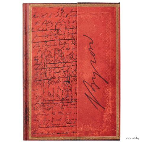 "Записная книжка Paperblanks ""Джордж Байрон. Дон Жуан"" в линейку (формат: 100*140 мм, мини)"