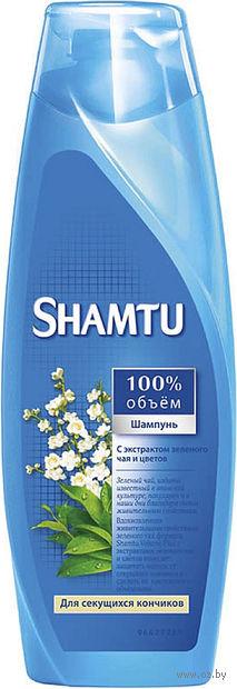 """Шампунь SHAMTU """"С экстрактом зеленого чая и цветов"""" (200 мл)"""