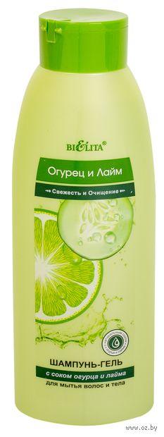 """Шампунь-гель для волос и тела """"Свежесть и очищение"""" (500 мл)"""