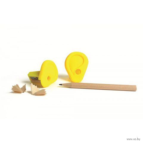 """Точилка """"Ear"""" (желтая)"""