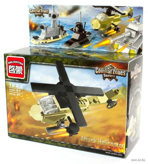 """Конструктор """"Combat Zones. Вертолет"""" (47 деталей) — фото, картинка"""