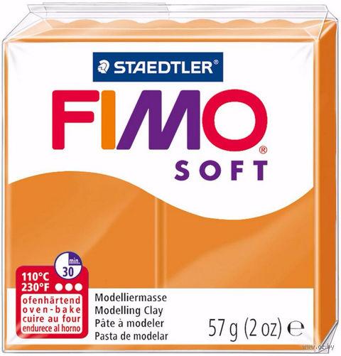 """Глина полимерная """"FIMO Soft"""" (апельсин; 57 г) — фото, картинка"""
