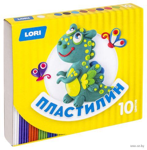 """Пластилин """"Детский"""" (10 цветов; арт. Пл-020) — фото, картинка"""