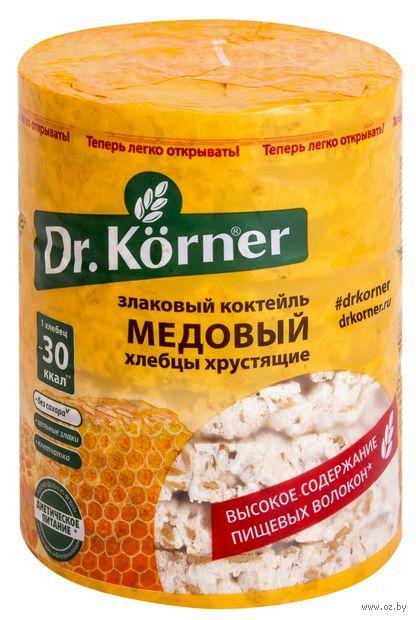 """Хлебцы мультизлаковые """"Dr. Korner. Со вкусом меда"""" (100 г) — фото, картинка"""