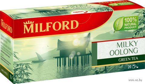 """Чай зеленый """"Milford. Молочный улун"""" (20 пакетиков) — фото, картинка"""