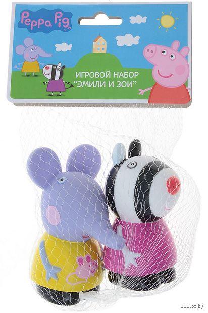 "Набор игрушек для купания ""Эмили и Зои"" (2 шт.) — фото, картинка"