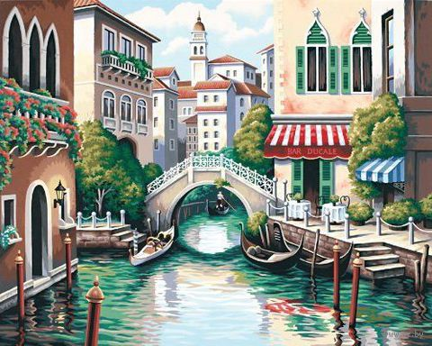"Картина по номерам ""Городской канал"" (410х510 мм; арт. DMS-91303)"