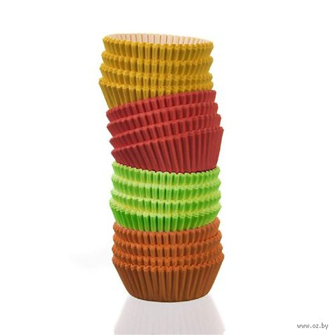 Форма бумажная для выпекания кексов (100 шт.; арт. 44KF75C) — фото, картинка
