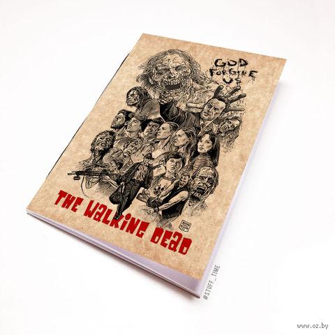 "Блокнот крафт ""Ходячие Мертвецы"" (А7; арт. 124) — фото, картинка"