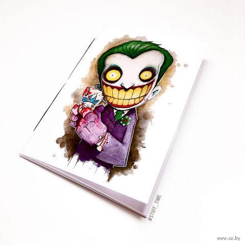 "Блокнот белый ""Джокер"" А5 (арт. 045)"