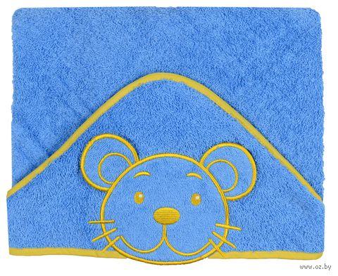 """Детское полотенце с капюшоном """"Мышка"""""""