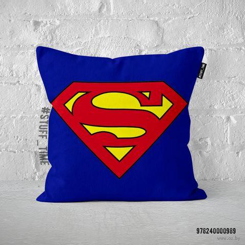 """Подушка """"Супермен"""" (арт. 989) — фото, картинка"""