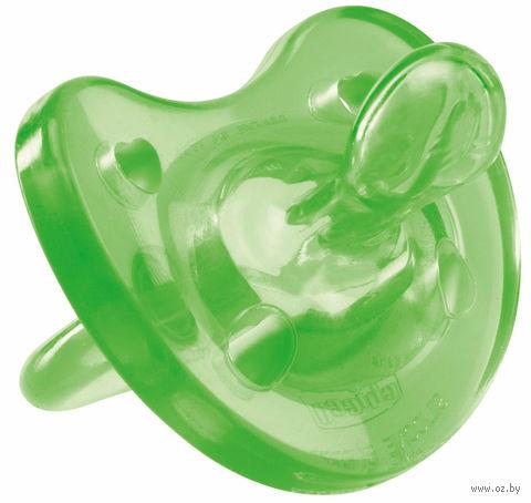 """Пустышка силиконовая ортодонтическая """"Physio Soft"""" (зеленая; арт. 00002711310000) — фото, картинка"""