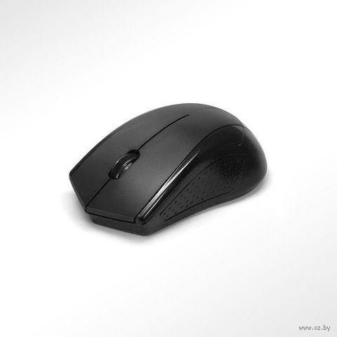 Беспроводная мышь оптическая Mirex MWM001BK (черная) — фото, картинка