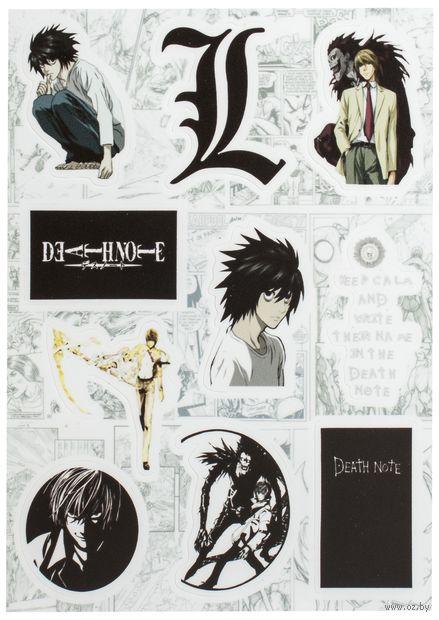 "Набор виниловых наклеек №177 ""Death Note"" — фото, картинка"