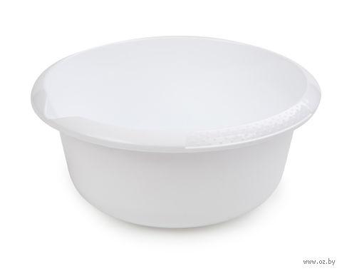 Миска (5 л; снежно-белый) — фото, картинка