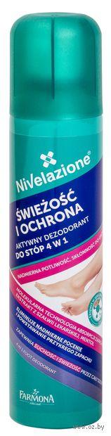 """Дезодорант для ног """"Nivelazione. 4в1"""" (150 мл) — фото, картинка"""
