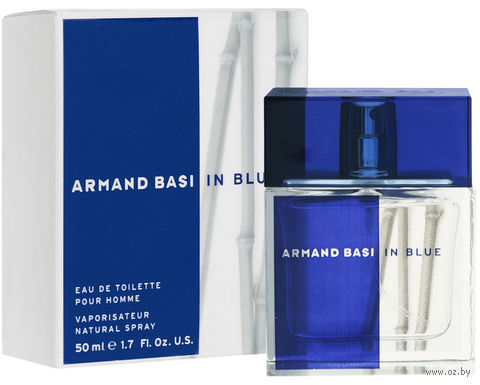 "Туалетная вода для мужчин Armand Basi ""In Blue"" (50 мл) — фото, картинка"