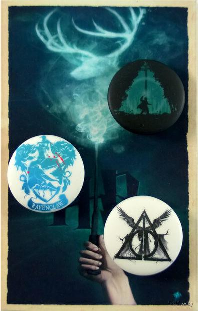 """Набор значков """"Гарри Поттер"""" (арт. 321)"""