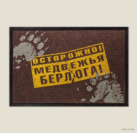 """Коврик """"Медвежья берлога"""" (40х60 см) — фото, картинка"""