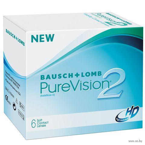 """Контактные линзы """"Pure Vision 2 HD"""" (1 линза; -6,0 дптр) — фото, картинка"""