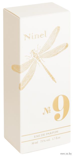 """Парфюмерная вода для женщин """"Ninel №9"""" (50 мл) — фото, картинка"""