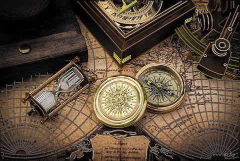 """Вышивка бисером """"Карта времени"""" (256х400 мм) — фото, картинка"""