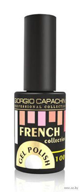 """Гель-лак для ногтей """"French"""" тон: 100, белый — фото, картинка"""
