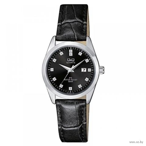 Часы наручные (чёрные; арт. QZ13J302) — фото, картинка