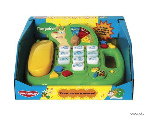 """Развивающая игрушка """"Веселый телефон"""" — фото, картинка"""