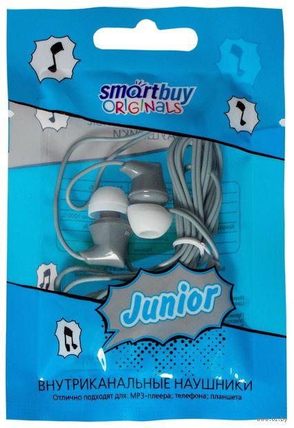 Внутриканальные наушники Smartbuy JUNIOR, серые