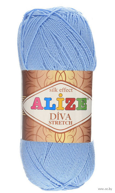 ALIZE. Diva Stretch №350 (100 г; 400 м) — фото, картинка