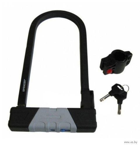 Велозамок на ключ (17-32 см) — фото, картинка