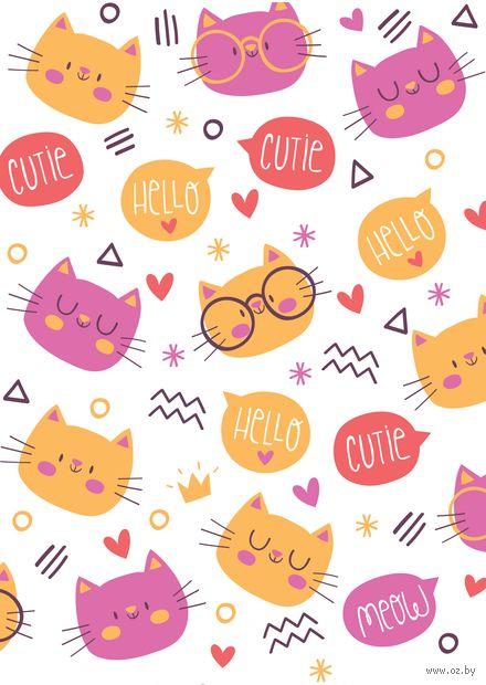 "Открытка ""Kawaii cats"" — фото, картинка"