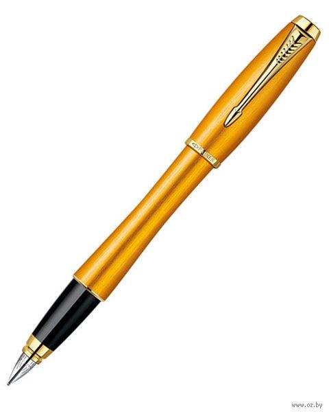 "Перьевая ручка Parker ""Urban Premium Mandarin Yellow"""
