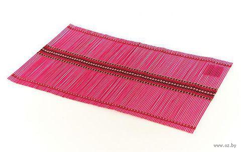 Подставка сервировочная бамбуковая окрашенная (30*45 см, арт. 4900012)