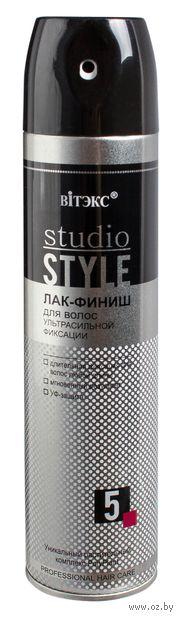 """Лак-финиш для волос """"Studio Style"""" ультрасильной фиксации (300 мл) — фото, картинка"""