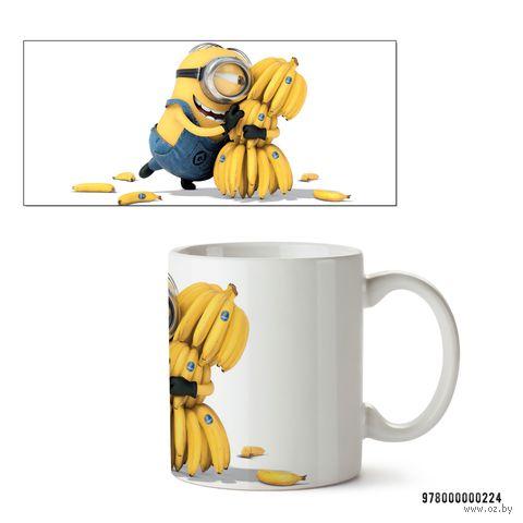 "Кружка ""Миньон с бананами"" (арт. 224)"