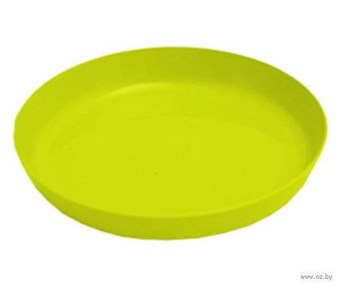 """Подставка для цветочного горшка """"Ага"""" (14,5 см; лимонная) — фото, картинка"""