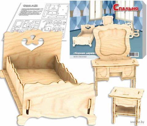 """Сборная деревянная модель """"Спальня"""" — фото, картинка"""