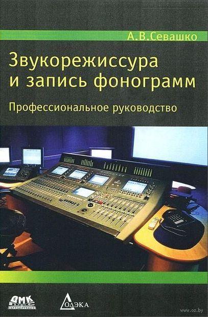Звукорежиссура и запись фонограмм. Профессиональное руководство — фото, картинка