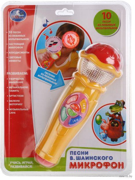 """Музыкальная игрушка """"Микрофон"""" (со световыми эффектами; арт. A848-H05031-R3) — фото, картинка"""