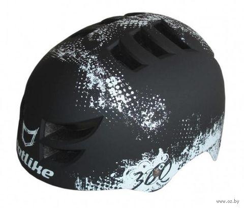"""Шлем велосипедный """"360°"""" (чёрный) — фото, картинка"""