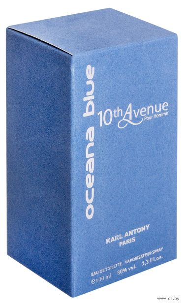 """Туалетная вода для мужчин """"10th Avenue Oceana Blue"""" (100 мл)"""