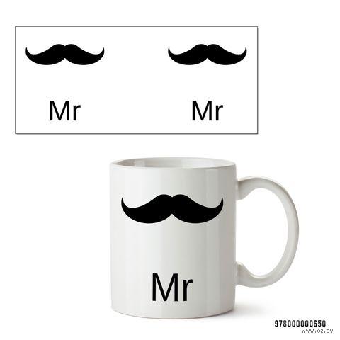 "Кружка ""Mr"" (белая) — фото, картинка"