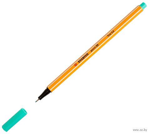 "Ручка капиллярная ""Point 88"" (0,4 мм; зеленый лед) — фото, картинка"