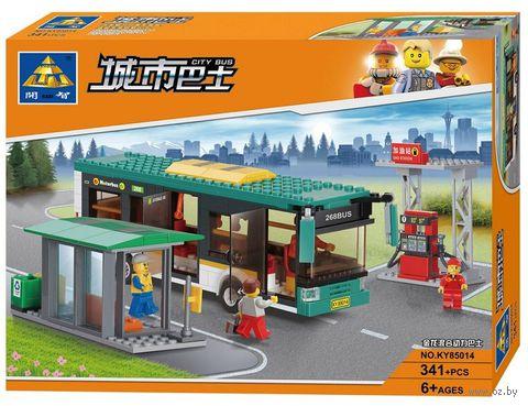 """Конструктор """"Автобусная станция"""" (341 деталь) — фото, картинка"""