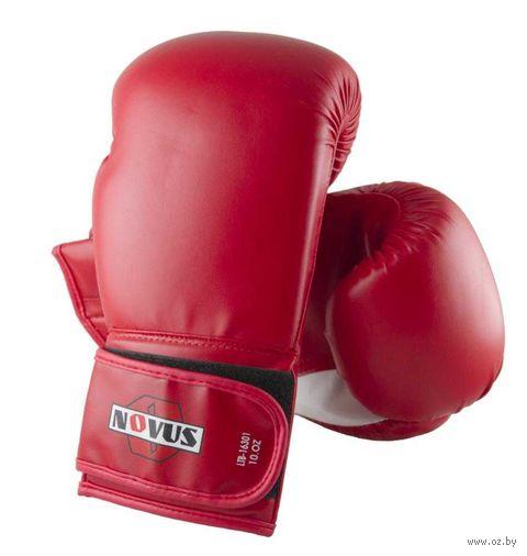 Перчатки боксёрские LTB-16301 (S/M; красные; 10 унций) — фото, картинка