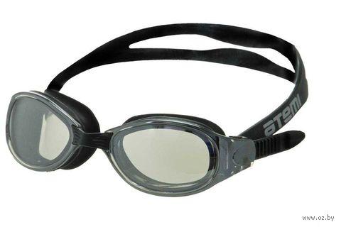 Очки для плавания (чёрные; зеркальные; арт. B101M) — фото, картинка