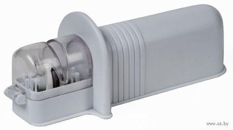Точилка для ножей (пластмасса/металл, 16x4 см)